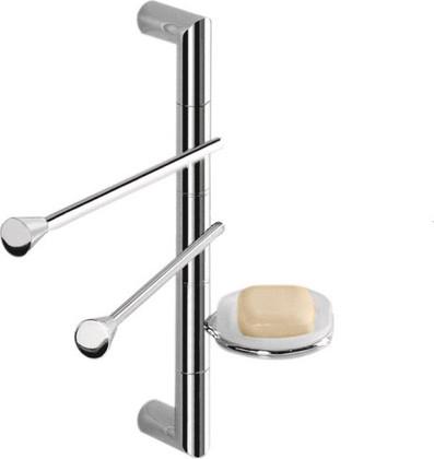 Штанга подвесная с аксессуарами для ванной, 350мм Colombo Isole-Piantane B9424.000