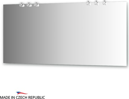 Зеркало со светильниками 160x75см Ellux CRY-D6 0219