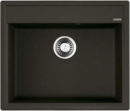 Кухонная мойка Omoikiri Daisen 60-DC, искусственный гранит, тёмный шоколад 4993621
