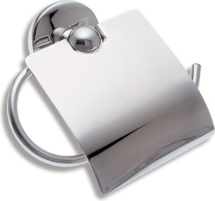 Держатель для туалетной бумаги с крышкой Novaservis Metalia-1, хром 6138.0