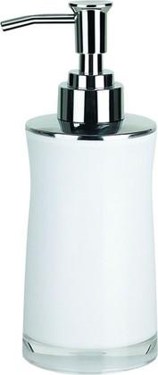 Ёмкость для жидкого мыла с дозатором пены белая Spirella Sydney Acrylic 1011345