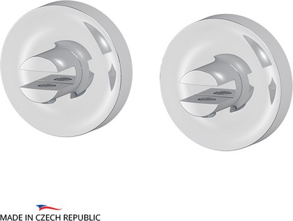Комплект держателей стеклянной полки 2шт, хром Ellux ELE 033