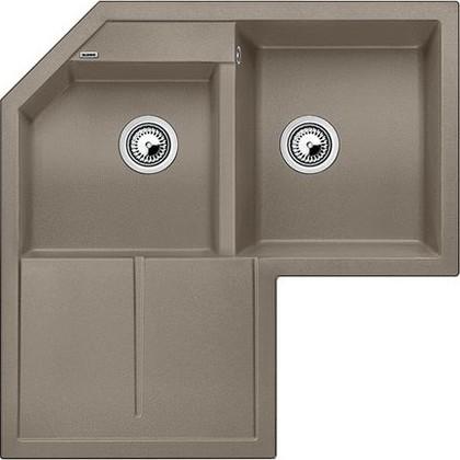 Кухонная мойка крыло слева, гранит, серый беж Blanco Metra 9 Е 517367