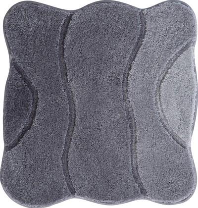 Коврик для ванной Grund Curts, 60x60см, полиакрил, серый 2570.64.001
