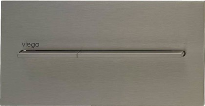 Кнопка смыва для унитаза металлическая, цвет нержавеющая сталь Viega Visign for More 104 598471