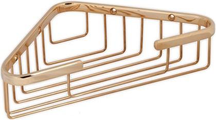 Полка для ванной угловая 15x15x5см, золото TW Harmony TWHO534oro