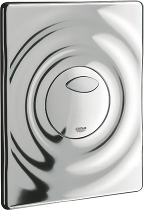 Смывная клавиша для унитаза Grohe Surf двойной смыв, хром 38861000