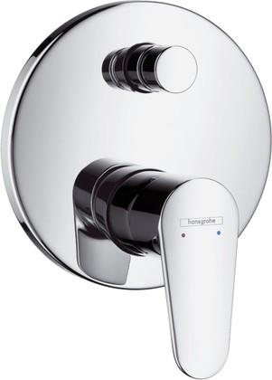 Наружная часть смесителя для ванны с переключателем, хром Hansgrohe Talis E² 31645000