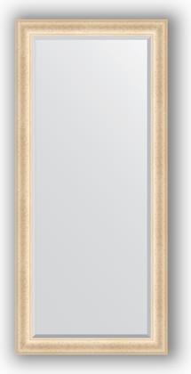 Зеркало 75x165см с фацетом 30мм в багетной раме старый гипс Evoform BY 1302