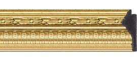 Зеркало 60x145см с фацетом 30мм в багетной раме сусальное золото Evoform BY 1264