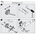 Инструкция по монтажу бумагодержателя из коллекции Hansgrohe Axor Starck Organic 42736000