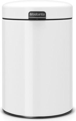 Мусорный бак настенный 3л, белый Brabantia Newicon 115523