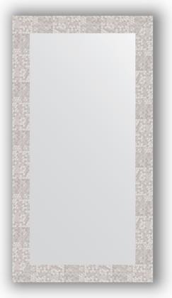 Зеркало в багетной раме 56x106см соты алюминий 70мм Evoform BY 3083