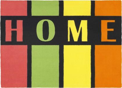 Коврик придверный HOME разноцветные полосы, полиамид 40х60см Golze Young Star 1693-40-05