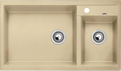 Кухонная мойка основная чаша слева, без крыла, гранит, шампань Blanco Metra 9 513946