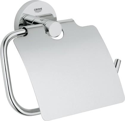Держатель туалетной бумаги с крышкой, хром Grohe Essentials 40367001