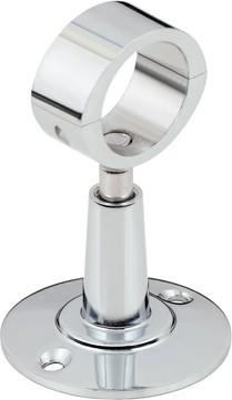 Кронштейн для полотенцесушителя Стилье, разъёмное кольцо 28мм 00100-0000