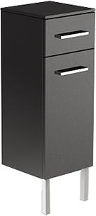 Verona SOLO Шкаф средний напольный, ширина 30см, ящик и корзина, артикул SL411
