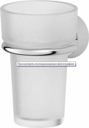 Стакан стеклянный настеннй, хром FBS Vizovice VIZ 006
