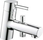 Смеситель однорычажный на одно отверстие на бортик ванны, хром Grohe CONCETTO 32701001