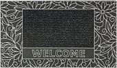 Коврик придверный 45х70см WELCOME черный, полипропилен Golze HOME STAR 570-30-06