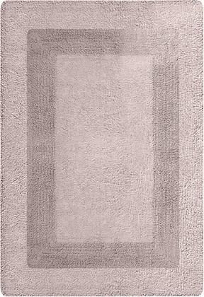 Коврик для ванной комнаты хлопковый 40x60см бежевый Spirella LOUISIANE 4006251