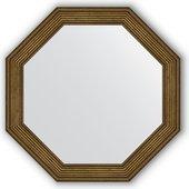 Зеркало Evoform Octagon 490x490 в багетной раме 51мм, сухой тростник BY 3661