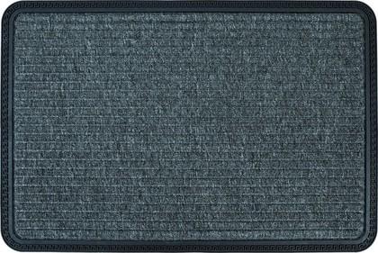 Коврик придверный 50x80см промежуточный серый, резина/полипропилен Golze Border Star 485-40-40