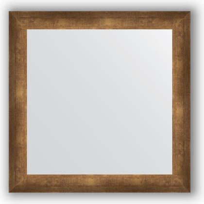 Зеркало 66x66см в багетной раме 66мм старая бронза Evoform BY 0785