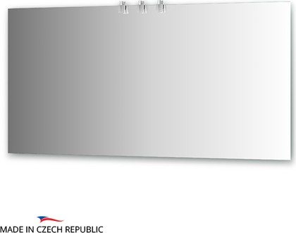 Зеркало со светильниками 150x75см Ellux ART-B3 0218