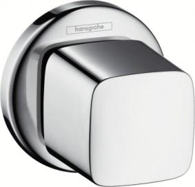 Запорный вентиль Hansgrohe Metris E, скрытого монтажа, хром 31677000