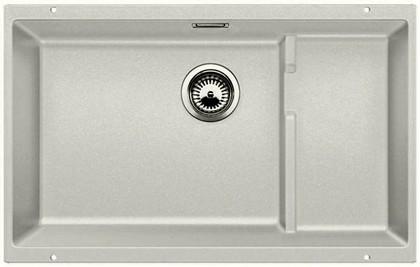 Кухонная мойка без крыла, с клапаном-автоматом, гранит, жемчужный Blanco Subline 700-U Level 520666