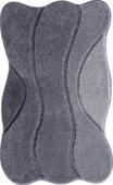 Коврик для ванной Grund Curts, 60x100см, полиакрил, серый 2570.16.001