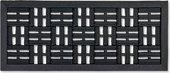 Коврик придверный Golze Dynamic 25x60, чёрныйе квадраты 327-19-01