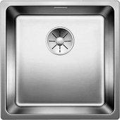 Кухонная мойка Blanco Andano 400-IF, отводная арматура, полированная сталь 522957