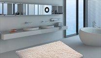 Коврик для ванной 55x55см натуральный Grund NEO 2581.61.7151