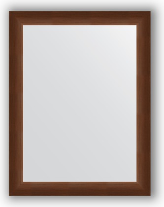 Зеркало 66x86см в багетной раме 65мм орех Evoform BY 1014