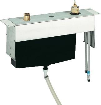 Скрытая часть для однорычажного смесителя для ванны на 3 отверстия для монтажа на бортике Grohe 33341000