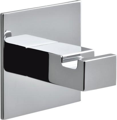 Крючок для ванной Colombo Forever, одинарный, настенный, самоклеющийся, хром LC67