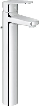 Смеситель для свободностоящих раковин однорычажный с донным клапаном, хром Grohe EUROPLUS 32618002