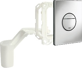 Кнопка смыва для инсталляции для унитаза, с ёмкостью для ароматических таблеток, хром Grohe NOVA Cosmopolitan 38799000