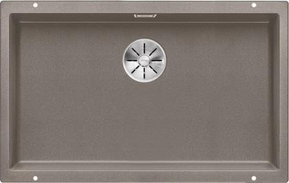 Кухонная мойка Blanco Subline 700-U, отводная арматура, серый беж 523449