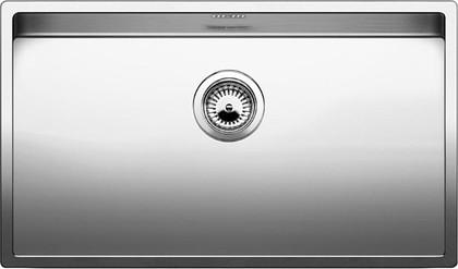 Кухонная мойка без крыла, нержавеющая сталь зеркальной полировки Blanco CLARON 700-U 517223