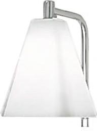 Светильник для зеркала галогеновый, белое матовое стекло , хром Colombo Bart B1303