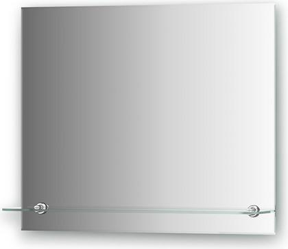 Зеркало 60x50см с полкой с фацетом Evoform BY 0514