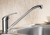 Смеситель однорычажный для кухонной мойки, хром Blanco DARAS 517720