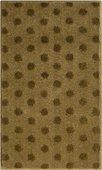 Коврик для ванной 60x100см золотой с золотым люрексом Grund Bindu 3617.16.287