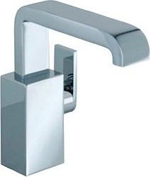 Однорычажный смеситель для умывальника с донным клапаном, с коротким изливом, хром Keuco EDITION 300 53004010100