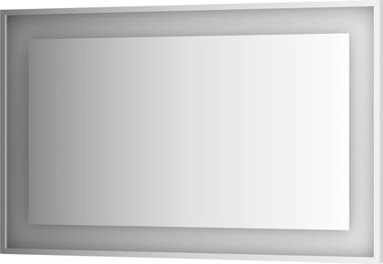 Зеркало 120х75 в багетной раме со встроенным LED-светильником Evoform BY 2207
