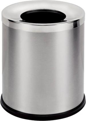 Бак для мусора 7.5л хром/матовый Bemeta 150115161